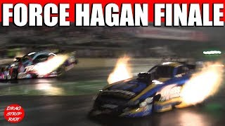 2015 Night Under Fire Nitro Funny Cars Courtney Force Matt Hagan Drag Racing Videos