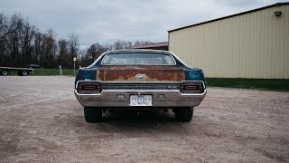 1970 Ford Galaxie 429 Cold Start : Stock Exhaust Sounds