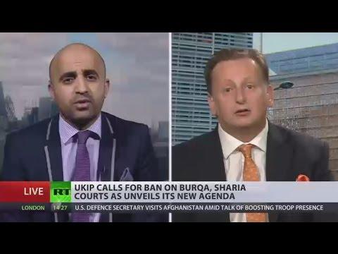 Burqa & Sharia Court Ban: UKIP unveils new agenda ahead of snap elections (DEBATE)