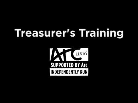 Treasurer's Training - Part 1
