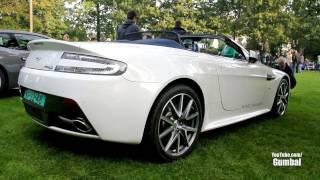 Aston Martin V8 Vantage S Roadster + AMV8 Roadster Acceleration Sound!! - 1080p HD