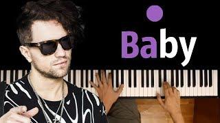 ЛСП/FACE - Бэйби ● караоке | PIANO_KARAOKE ● ᴴᴰ + НОТЫ & MIDI