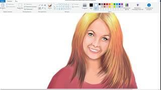Рисуем девушку в Corel painter Essentials 6. Урок 1