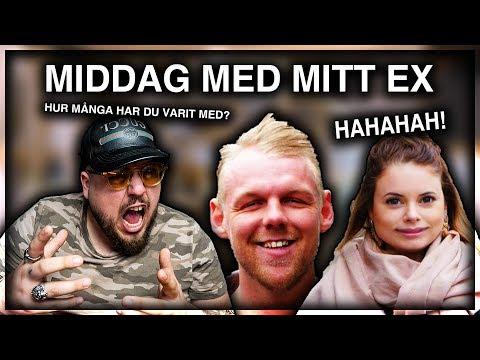 REAGERAR PÅ MIDDAG MED MITT EX **VAD ÄR DETTA?!** + LV GIVEAWAY