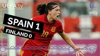 WU17 highlights: Spain v Finland