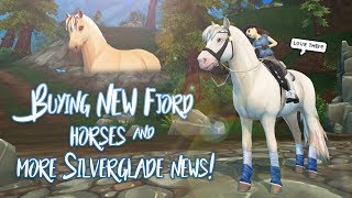 Buying NEW Fjord horses & more Silverglade news! | Star Stable Updates