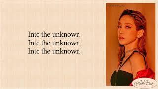 Download lagu Taeyeon (태연) - Into The Unknown (숨겨진 세상 Frozen 2 OST) Easy Lyrics