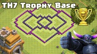 Clash of Clans - TH7 Trophy Baza (ANTI AIR)