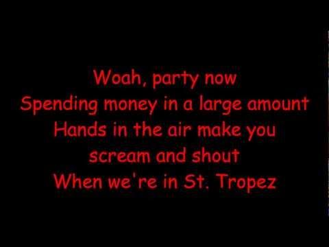 Welcome to St.Tropez -  Dj Antonie  - Official Lyrics