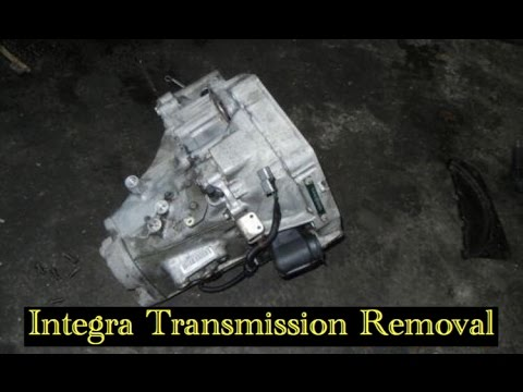 Acura Integra Manual Transmission Removal YouTube - Acura integra transmission