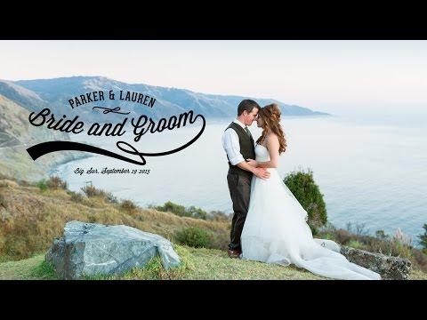 Most Beautiful California Destination Wedding Venue! Point 16, Big Sur Wedding Film by TréCreative