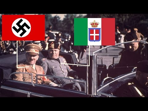 Роль Италии во Второй мировой войне
