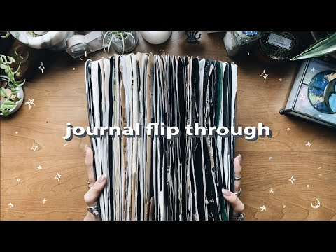 journal flip through 2019