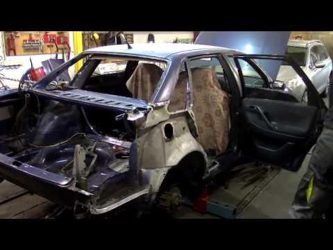 Видео Кузовной ремонт автомобиля в спб