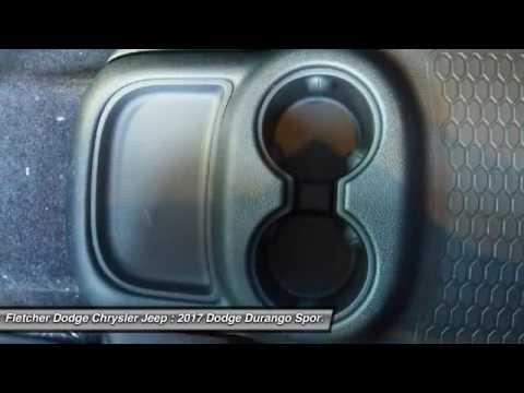 Fletcher Dodge Jonesboro Ar >> 2017 Dodge Durango Jn11054