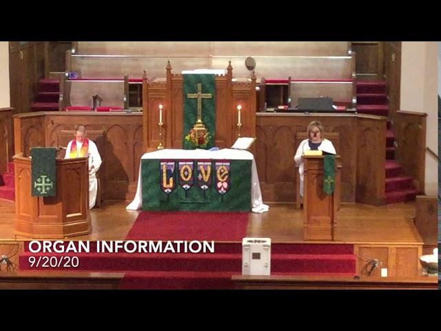 9/20/20 Organ Update