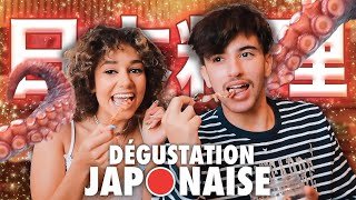 ON DÉGUSTE DE LA NOURRITURE JAPONAISE feat. Just Riadh || Lena Situations