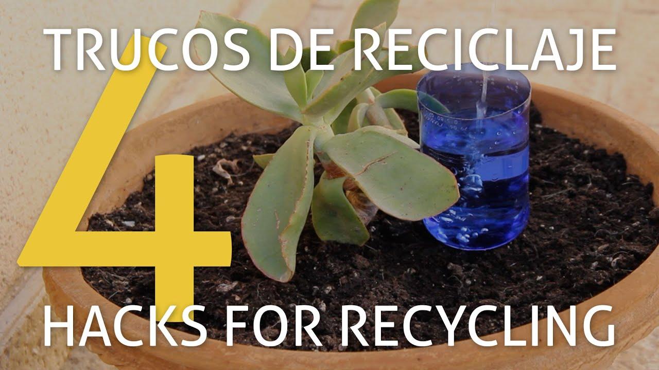 4 herramientas de jardiner a con objetos reciclados youtube - Herramientas de jardineria ...