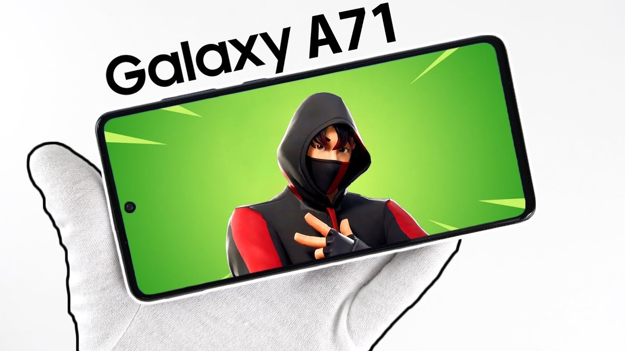 Samsung Galaxy A71 Phone Unboxing - Fortnite, PUBG, Free Fire, Call of Duty Mobile