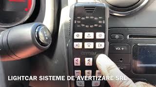 Telecomanda sirena EXPERT 100 , girofar rampa ARMAS SPARK-L