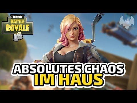 Absolutes Chaos im Haus - ♠ Fortnite Battle Royale ♠ - Deutsch German - Dhalucard