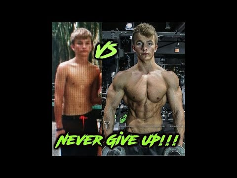 TEEN BODYBUILDING TRANSFORMATION | 16 - 21 | Marcin Chowaniec