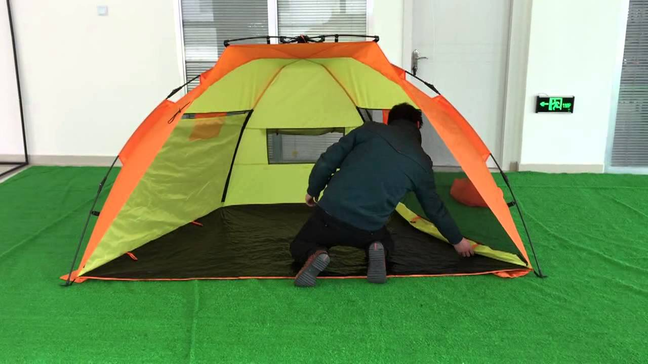 UV50+ Outdoors Quick Beach Tent Sun Shelter Instant Beach Star Tent EasyUp Beach Tent & UV50+ Outdoors Quick Beach Tent Sun Shelter Instant Beach Star ...