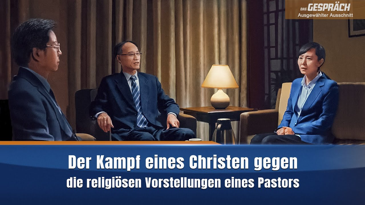 Christlicher Film | Das Gespräch Clip 5 – Der Kampf eines Christen gegen die religiösen Vorstellungen eines Pastors