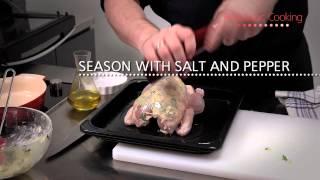 Roast Chicken With Honey Glaze