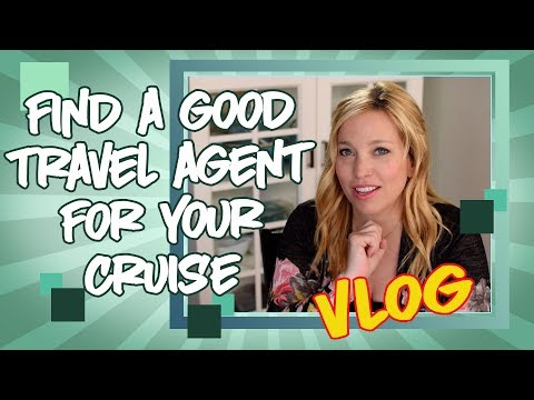 How to Find a Good Travel Agent For Your Cruise and More Vlog
