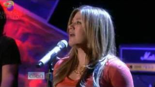 "[ HD ] KELLY CLARKSON Ellen ""SINCE YOU"