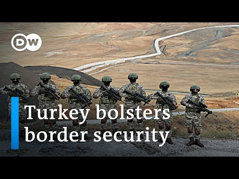Turkish authorities are stepping up efforts to block any refugee influx from Afghanistan | DW News