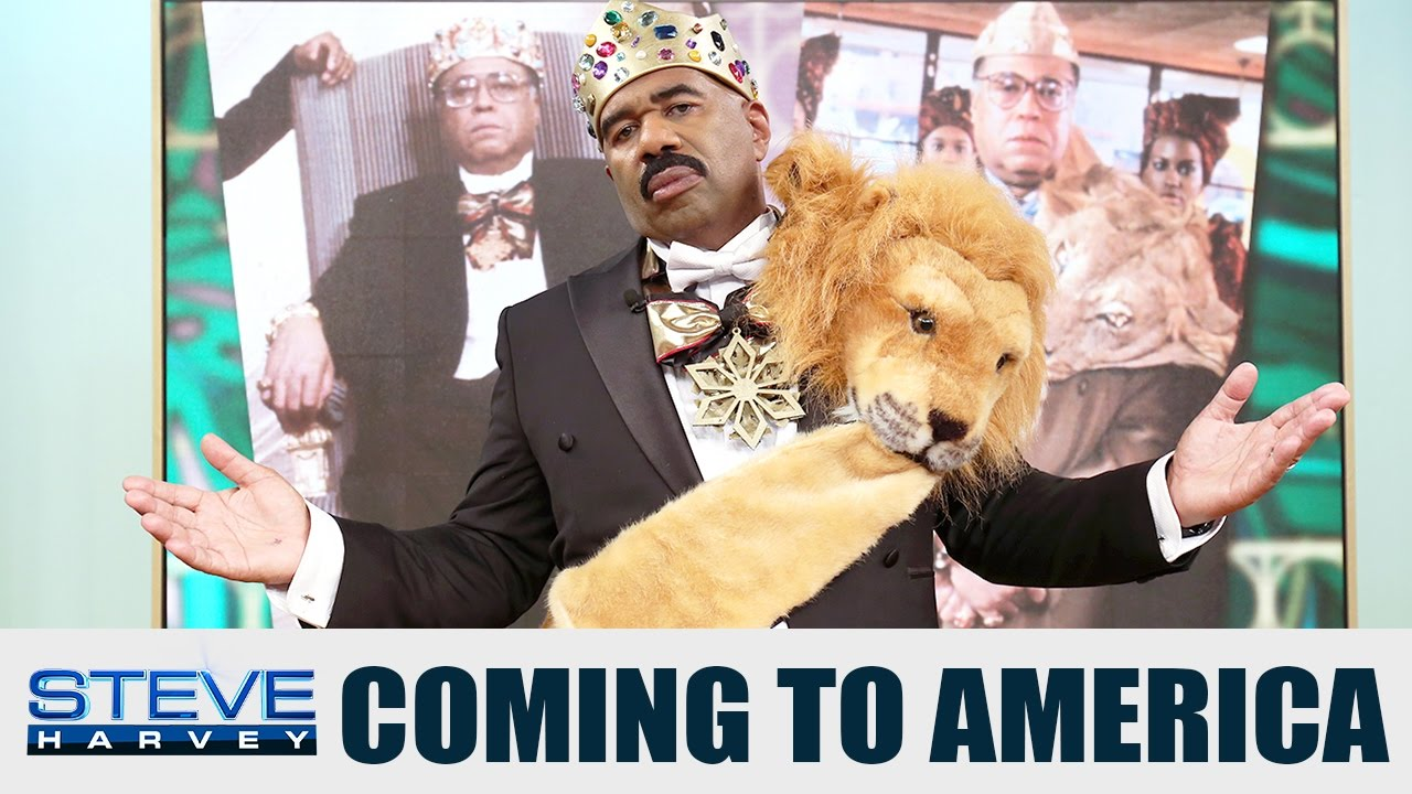 Download The KING is here!    STEVE HARVEY