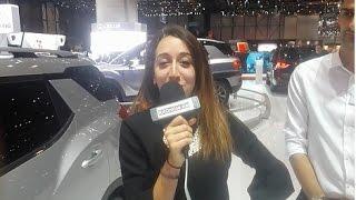 Salon de l'Auto Genève 2017, La marque  Ssangyong (Spécial Rifonline.net)