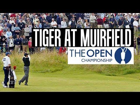 Tiger Woods Highlights at Muirfield 2002 1st Round