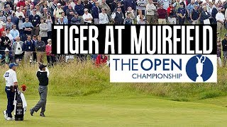 Tiger Woods Highlights at Muirfield 2002 1st Round