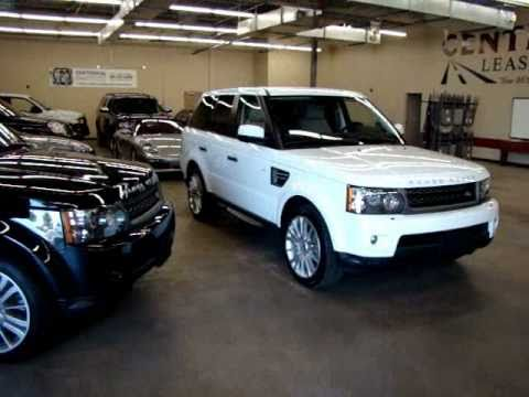 Black or White Comparison 2011 Range Rover Sport HSE Supercharged