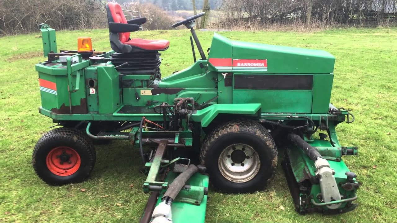 Free ransomes 350d manual