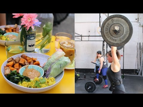 What I Eat in a Day +CrossFit // Zero Waste & Vegan