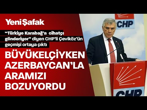 Azeri gazeteci 'Türkiye Karabağ'a cihatçı gönderiyor' diyen Çeviköz'ün Bakü'deki yıllarını anlattı