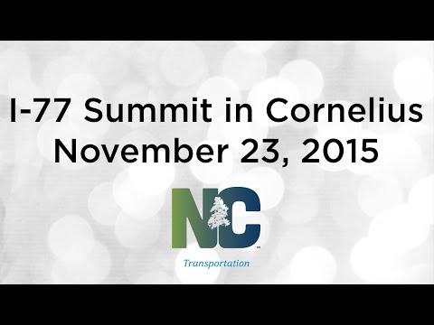I-77 Summit in Cornelius - November 23, 2015