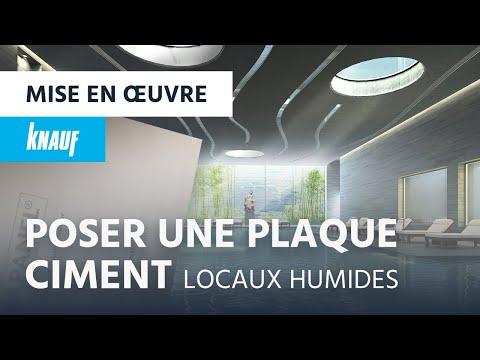 comment mettre en oeuvre la plaque de ciment knauf aquapanel indoor