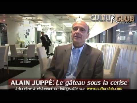 ALAIN JUPPÉ a la religion du produit frais ! (extrait interview CulturClub)