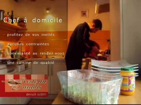 Benoit Gobin - chef à domicile - traiteur dans les Deux-Sèvres