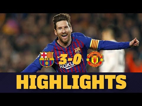 BARÇA 3-0 MANCHESTER UNITED | Match highlights thumbnail