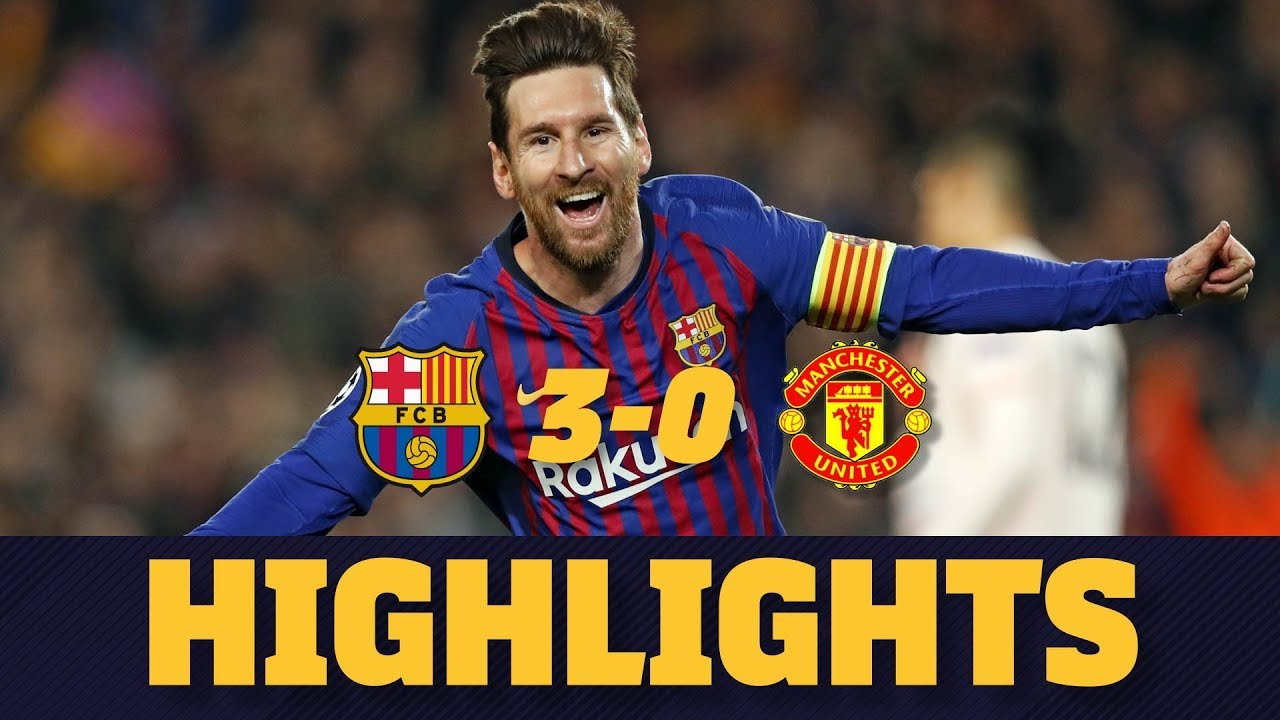 fc barcelona manchester united online free
