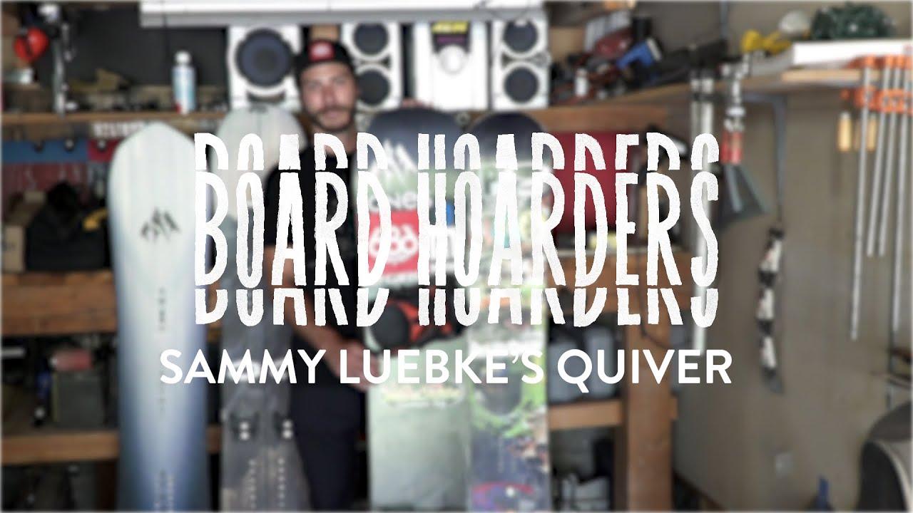 BOARD HOARDERS:  Sammy Luebke