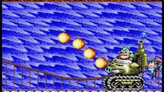 Rocket Knight Adventures - Hard mode=1 hit and ur dead - User video