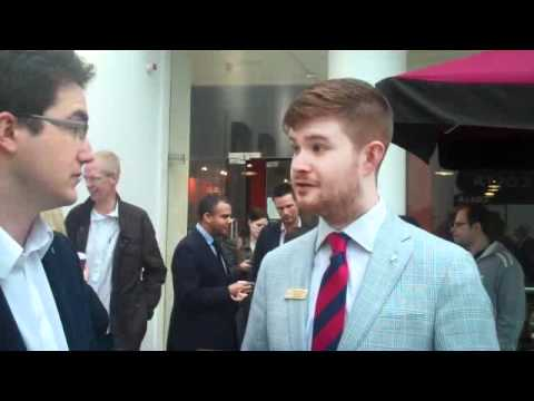 JCI Cambridge Business Skills Day - Interview with Patrick McCrae