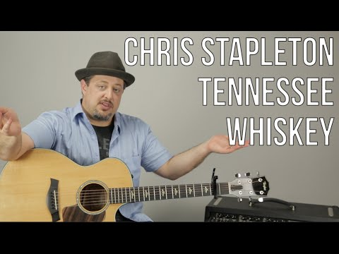 Chris Stapleton - Tennessee Whiskey - Guitar Lesson - How To Play Super Easy Beginner Acoustic